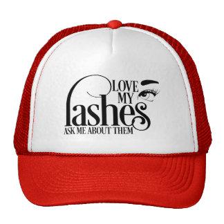 Love my Lashes Trucker Style Hat