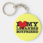 Love My Lebanese Boyfriend Keychain