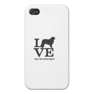 Love my Leonberger iPhone 4 Case