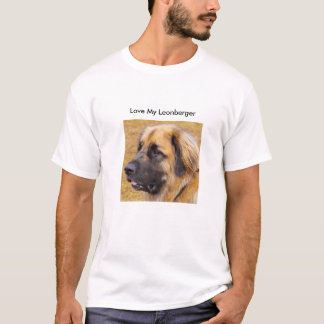 Love My Leonberger T-Shirt