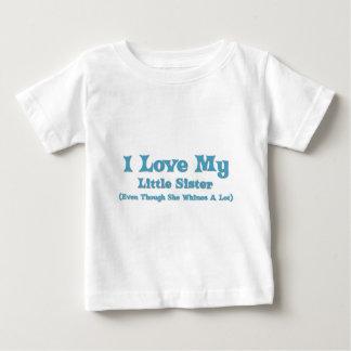Love My Little Sister Tee Shirt