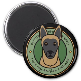 Love My Malinois Magnet