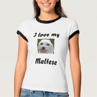 Love My Maltese T-Shirt
