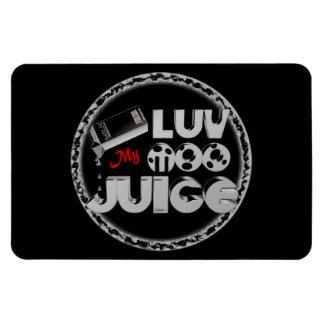 Love My Moo Juice template Valxart.com Rectangular Photo Magnet