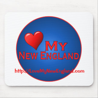 Love My New England Fan Club Items Mouse Pad