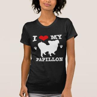 Love my papillon tee shirts