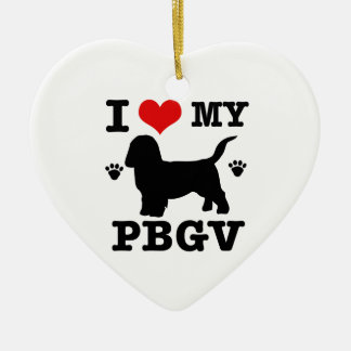 Love my PBGV Christmas Ornament