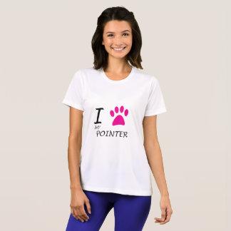 Love My Pointer Paw T-Shirt