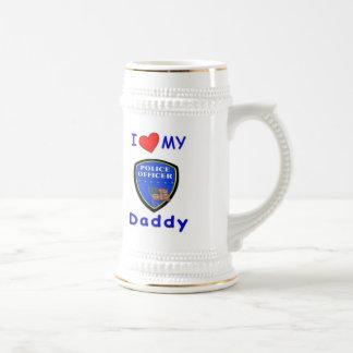 Love My Police Daddy Coffee Mugs