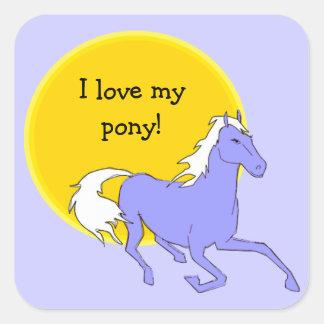 Love My Pony Sticker