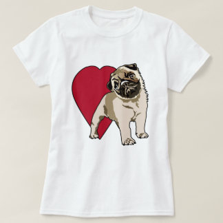 Love My Pugs T-Shirt