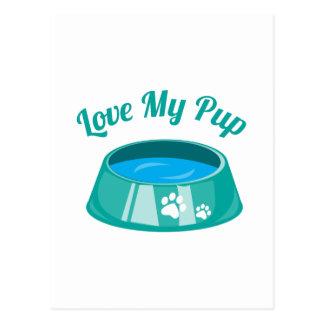 Love My Pup Postcard