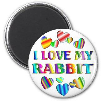 Love My Rabbit Magnet