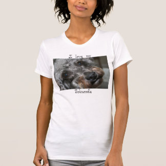 Love my Schnoodle shirt