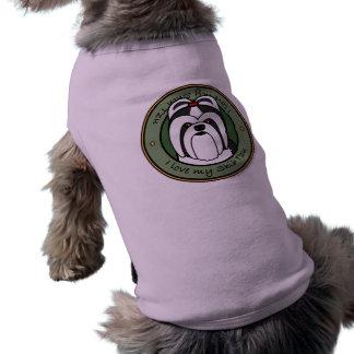 Love My Shih Tzu Dog Clothing