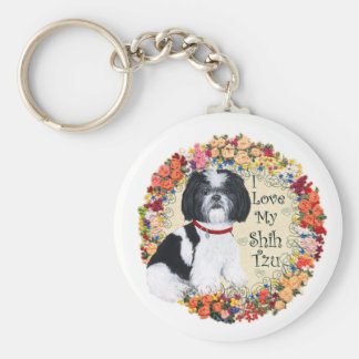 Love My Shih Tzu Key Ring