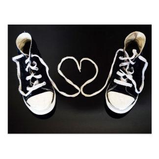 Love My Shoes Postcard