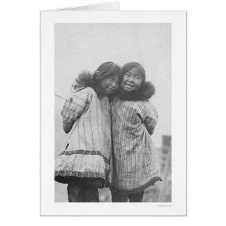 Love My Sister Eskimo 1908 Greeting Card