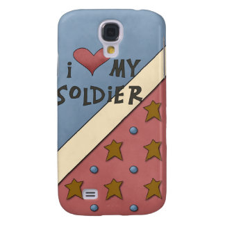 Love my Soldier Hard Shell Case for iPhone 3G/3GS Galaxy S4 Cases