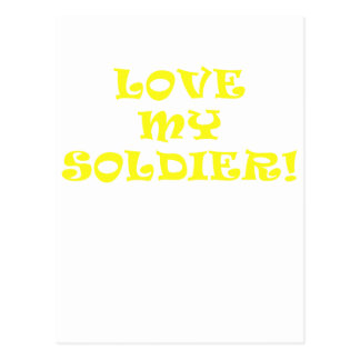 Love My Soldier Postcards