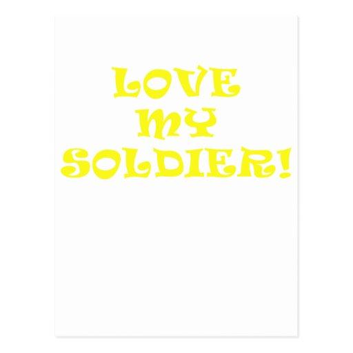Love My Soldier Postcards