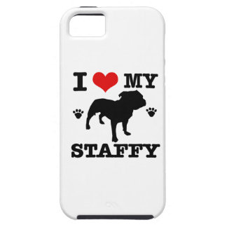 Love my staffy iPhone 5 covers