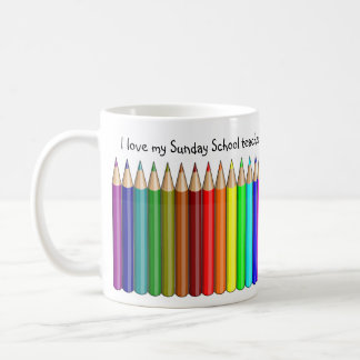 Love My Sunday School Teacher Mug