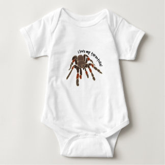 Love My Tarantula Baby Bodysuit
