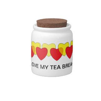 Love my Tea Breaks candy jar