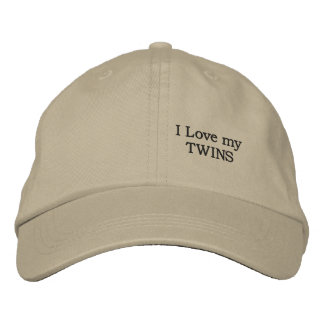 love my TWINS Embroidered Baseball Cap