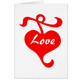 Love My Valentine Card by Janz