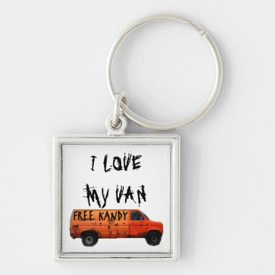 Love My Van Humour Key Ring