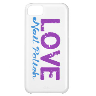 Love Nail Polish Case For iPhone 5C