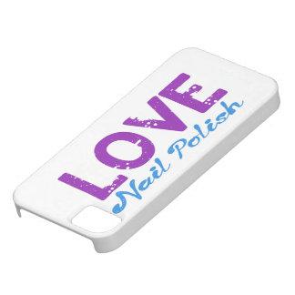 Love Nail Polish iPhone 5 Cases