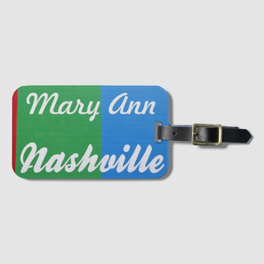 Love Nashville Luggage Tag