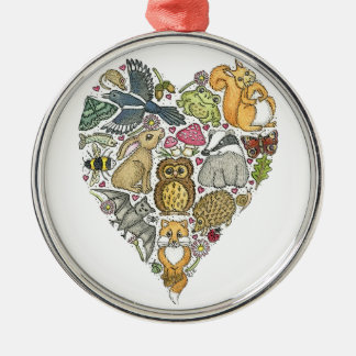 Love Nature Christmas Ornament