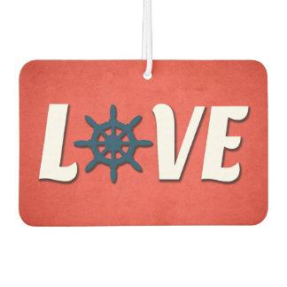 Love nautical design car air freshener