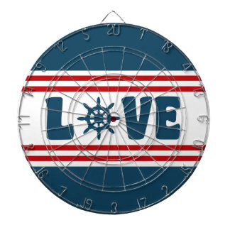 Love nautical design dartboard
