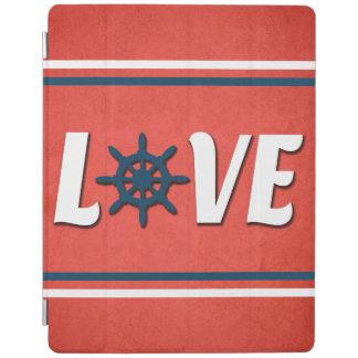 Love nautical design iPad cover