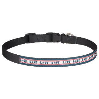 Love nautical design pet collar
