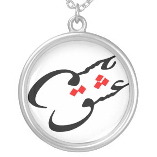 love Neckless (Eshgh X 2) Silver Plated Necklace
