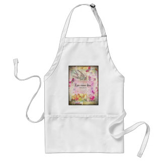 Love never dies QUOTE BY Emily Bronte Standard Apron
