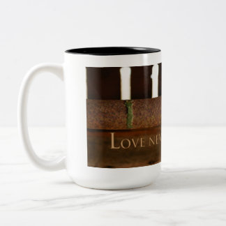 Love Never Fails Coffee Mug for Men Country Work