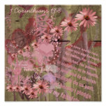 Love Never Fails ConeFlower Collage