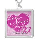 Love Never Fails Necklace