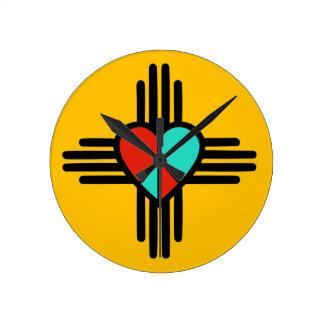 Love, New Mexico, Peace Clock