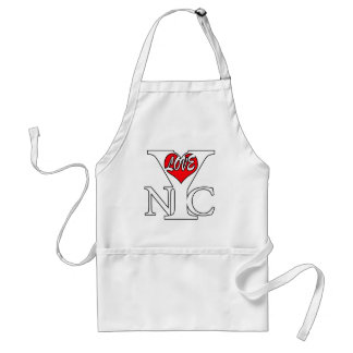 Love New York City, rwb Standard Apron
