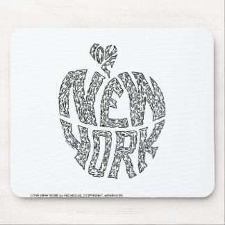 LOVE NEW YORK MOUSE MAT