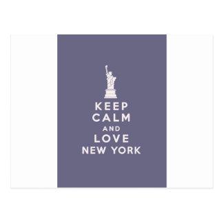 Love New York New York! Postcard