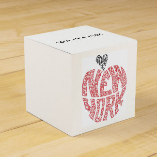 LOVE NEW YORK - THE BIG APPLE PARTY FAVOR BOX